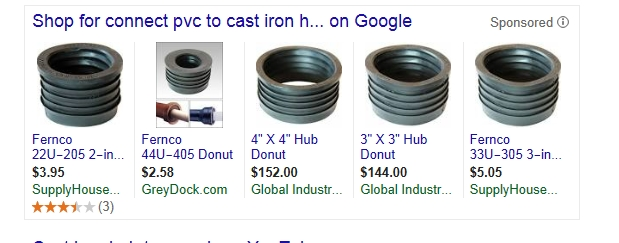 If you would google connect pvc to cast iron hub you would get this picture  sc 1 st  Terry Love Plumbing & Connecting PVC to Cast Iron. Fernco likely will not fit ...