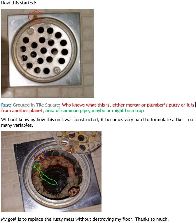 rusty drain marble floor help please.JPG
