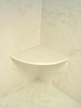 Preslope Under Cultured Marble Base Terry Love Plumbing Remodel - Cast marble shower pans