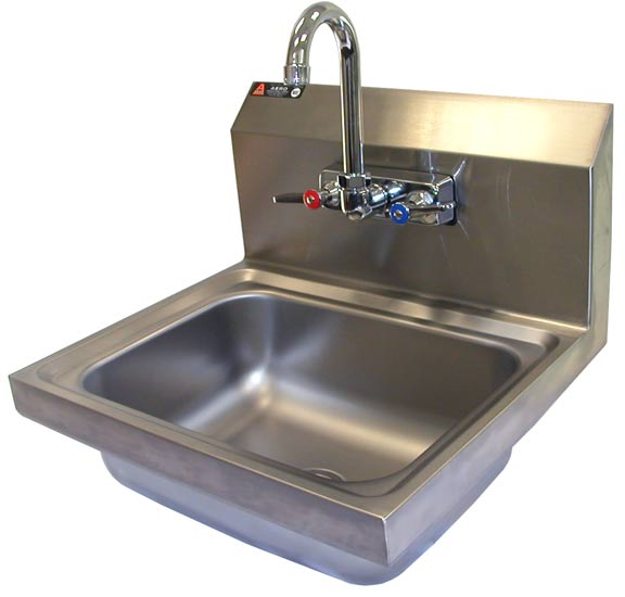 Free standing laundry sink