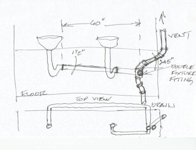 Bathroom Sink Remodel Venting Drain Question Terry Love Plumbing Amp Remodel Diy Amp Professional