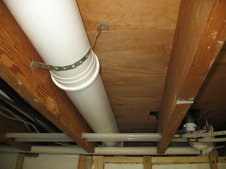 Diy bathroom vent - How to run plumbing collection ...