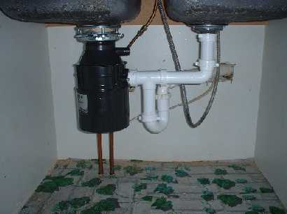 Install Garbage Disposal In Double Sink Terry Love Plumbing. How To Plumb A  Double Also S Kitchen Sink Plumbing With