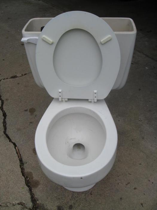 Anybody recognize this toilet? American Standard Cadet floor mount ...