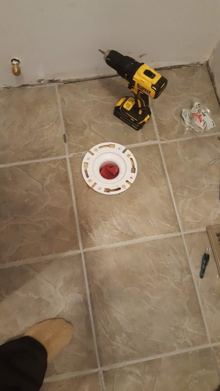 Toilet Flange on Tile, too high? | Terry Love Plumbing