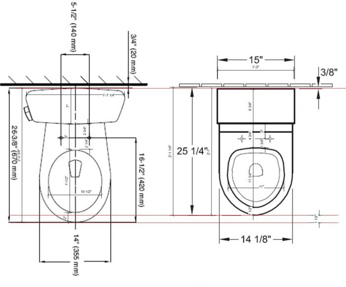 Wonderful Toilet Dimensions Comparejpg Toilet Dimensions Throughout  Decorating Toilet Dimensions. Fine Toilet Dimensions Size Of Toilets Bobrick Recessed Paper