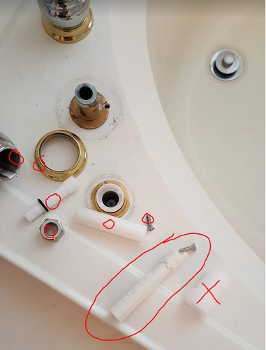 Older Moen Monticello Roman Tub trim replacement help | Terry Love