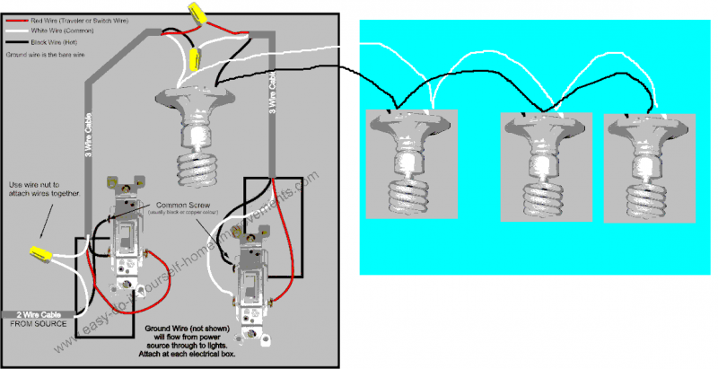Colorful Understanding 3 Way Switches Ensign - Wiring Ideas For New ...