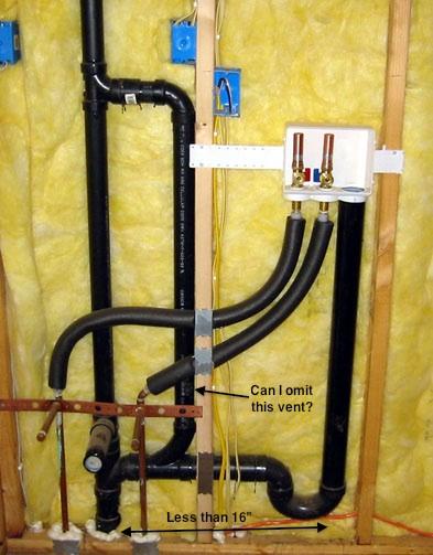 Venting Laundry Drain Terry Love Plumbing Amp Remodel Diy