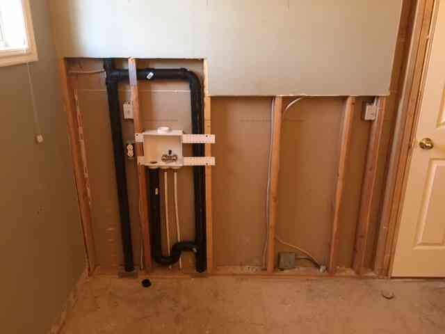 Please check my washing maching rough in | Terry Love Plumbing ...