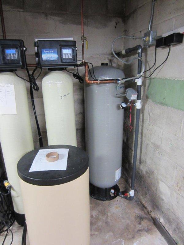 wrong well tank bladder vs hydro