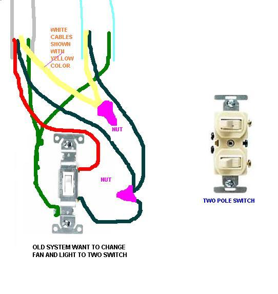 bathroom light fan operate separately terry love plumbing rh terrylove com bath fan light wiring Light and Fan Wiring Diagram