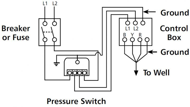 well pump wiring diagram well pump pressure switch wiring