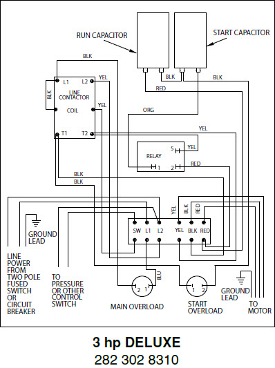 franklin well pump control box wiring diagram schematics and franklin electric single phase submersible well pumps qd control bo well pump wiring installation diagram