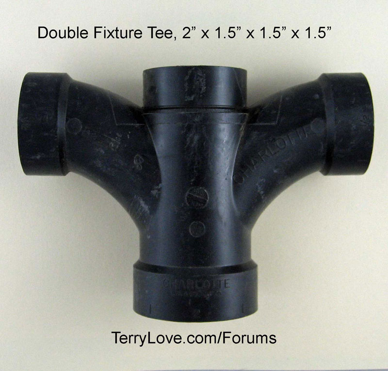 Double sanitary tee in Canada | Terry Love Plumbing ...
