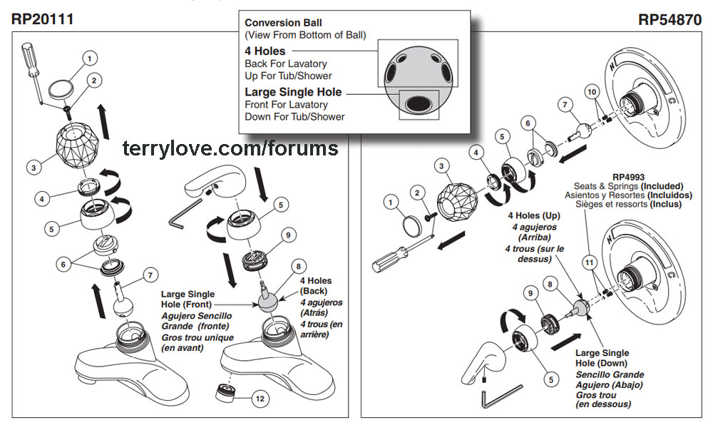 Delta Single Handle Shower Faucet Repair Terry Love Plumbing