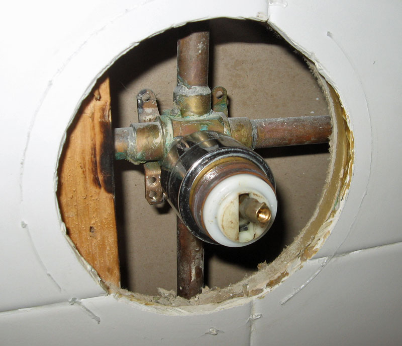 Twisted Off Old Delta 600 Shower Valve Terry Love