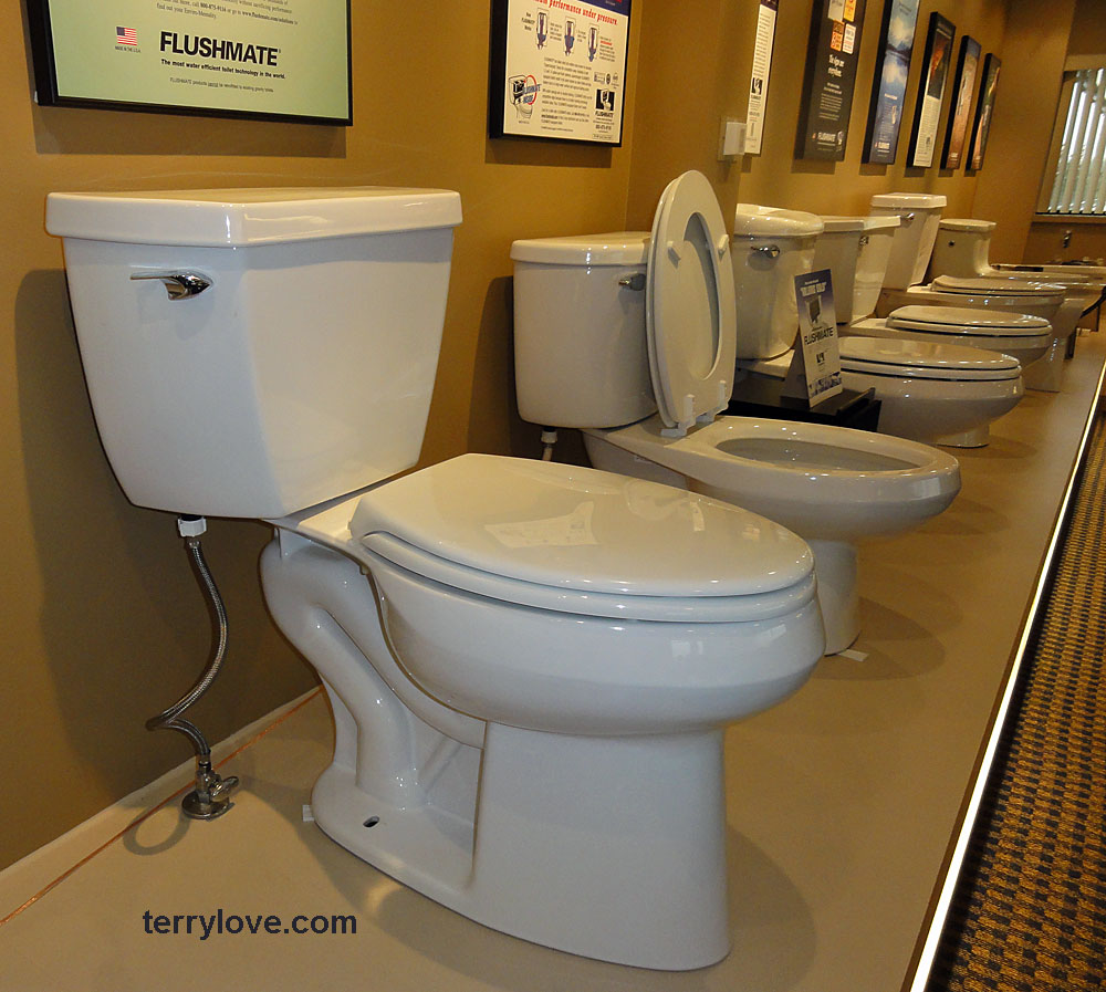 Pressure Assist To Gravity Toilet Slow To Drain Into Bowl Terry