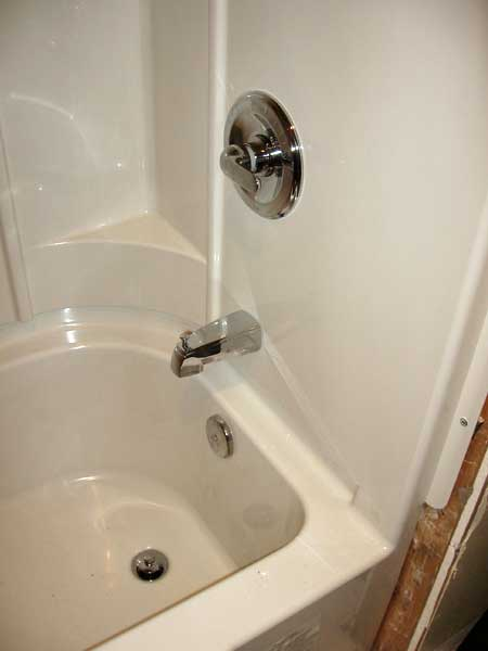 Sterling Accord 4 Piece install | Terry Love Plumbing & Remodel ...