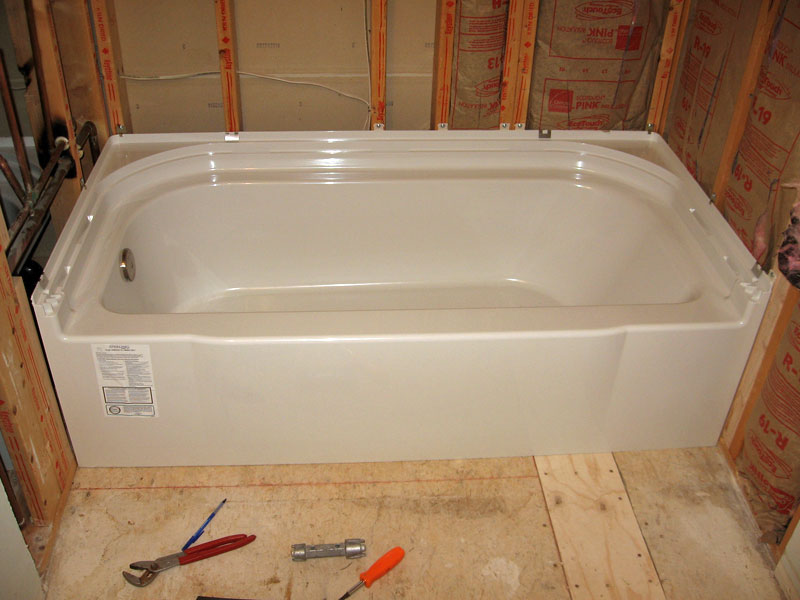 New Sterling Accord tub/surround install | Terry Love Plumbing ...