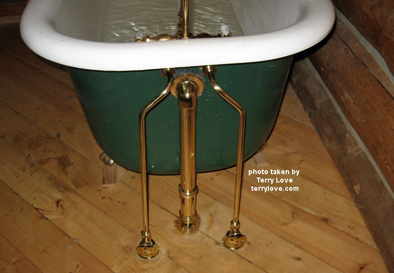 clawfoot tub plumbing fixtures. How To Replace A Clawfoot Tub Faucet And Waste  Satin Nickel
