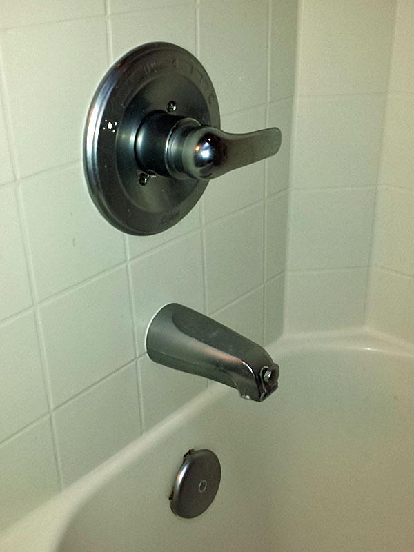 replacing tub spout dumb question terry love plumbing remodel diy