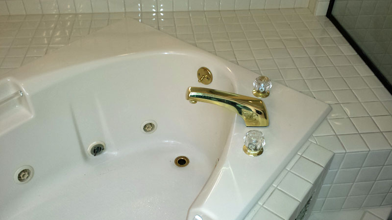 Delta Lahara Roman Tub Faucet Installation ( faucet replacement ...