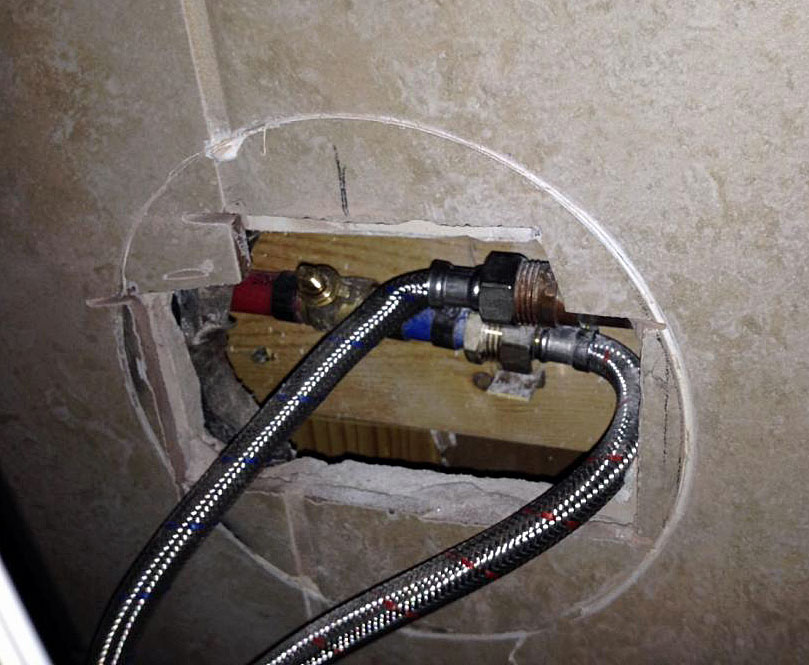 Shower Panel Install Gone Wrong | Terry Love Plumbing & Remodel DIY ...