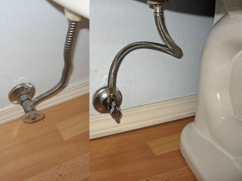 Trouble Replacing Faucet In Bathroom Corrugated Tubing