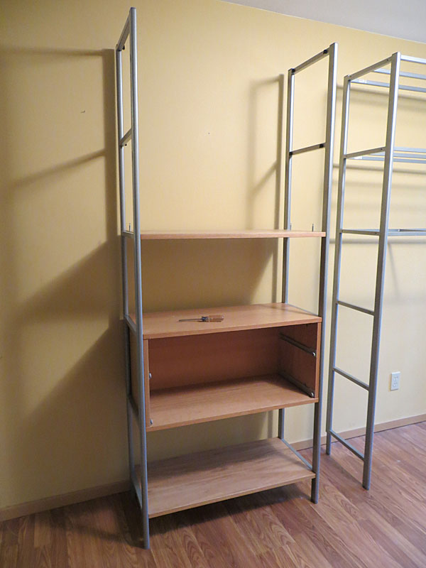 Ikea Journalist Shelving Instructions with Pictures | Terry Love