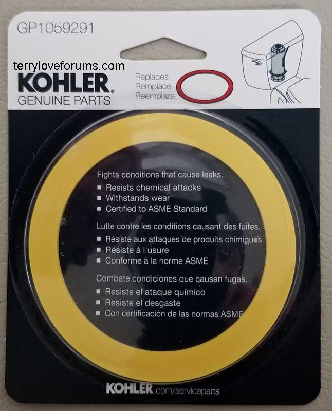 Replace Kohler Canister Type Flush Valve Terry Love