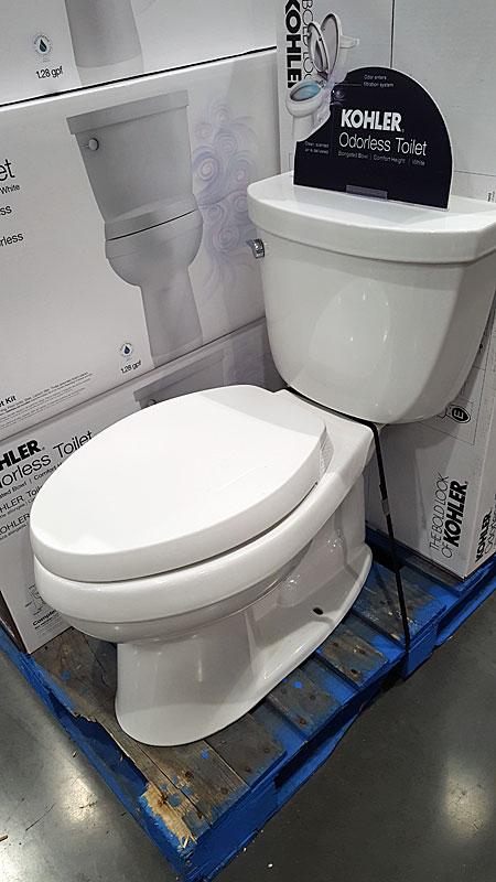 Kohler Odorless Toilet Odor Neutralizing Terry Love