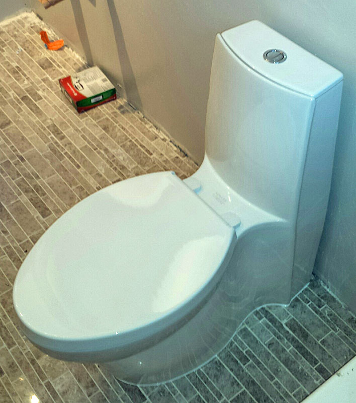 Kohler Saile toilet | Terry Love Plumbing & Remodel DIY ...