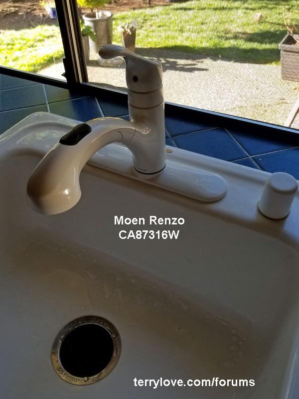 Replacing/Installing Moen Renzo kitchen faucet | Terry Love ...