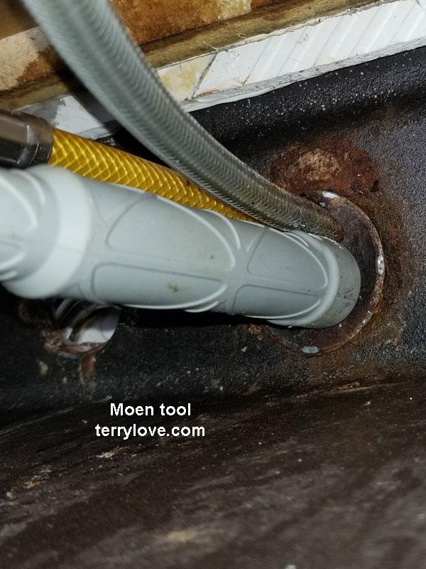 Replacing Installing Moen Renzo Kitchen Faucet Terry Love