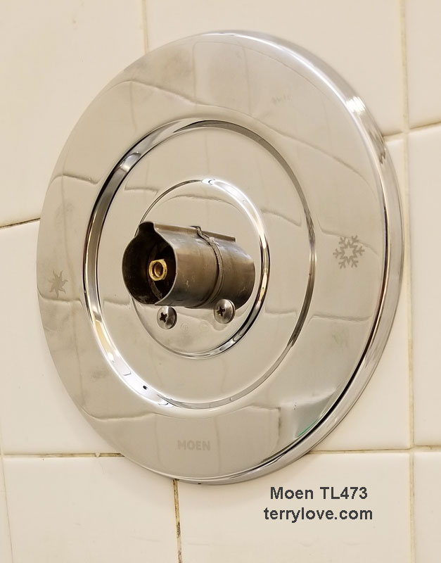 Moen Shower Valve.Updating An Old Moen Shower Valve With Pictures Tl473 Or Tl470
