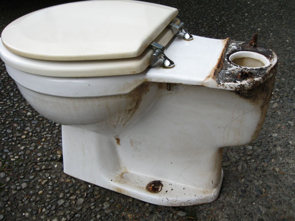 Rebuilding Norris Toilet From The 1970s Terry Love