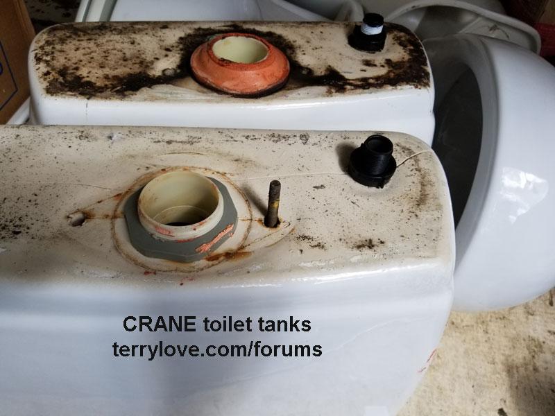 Remarkable Cracked Crane Toilet Bowls Terry Love Plumbing Remodel Short Links Chair Design For Home Short Linksinfo