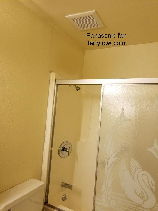 Installing A Panasonic Bathroom Exhaust Fan In A Condo