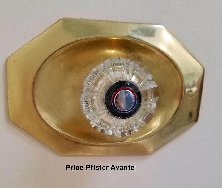 Pfister Avante, shower valve puzzle   Terry Love Plumbing & Remodel ...