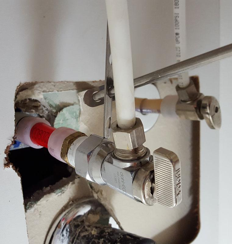 Sharkbite leak on pex terry love plumbing remodel diy for Leaky pipe carries more water