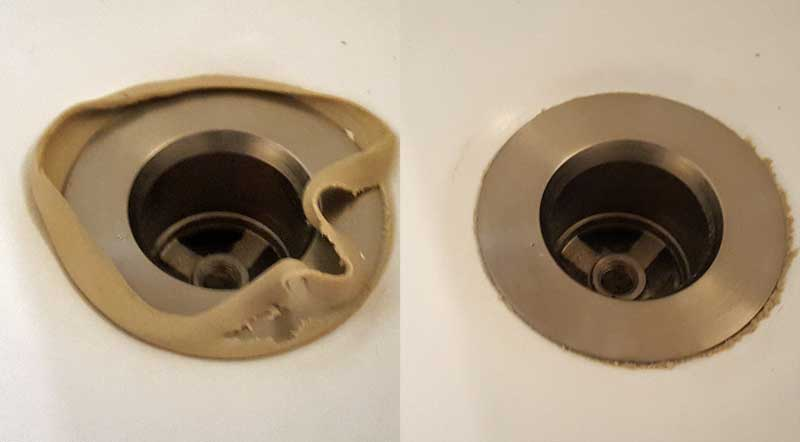 Tub drain leaking. How do I fix it? Leaks from shoe. | Terry Love ...