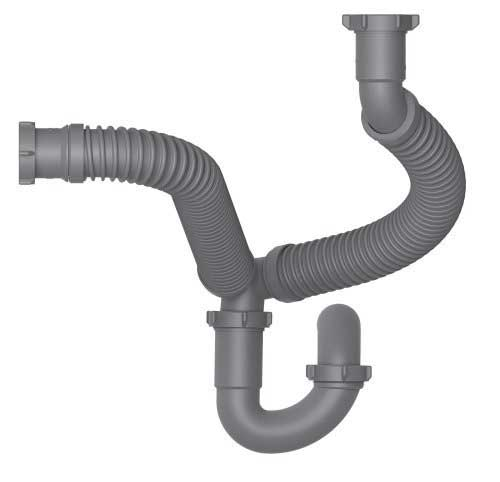 Is flexible drain kit appropriate for my kitchen sink
