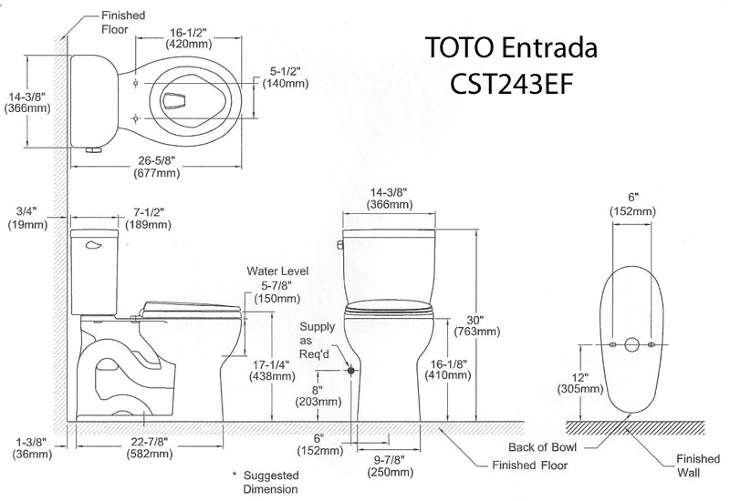 Toto Wall Mount Toilet Installation