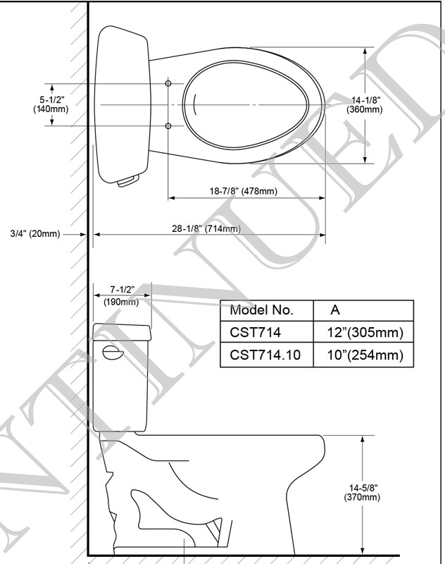 Toto Carusoe Cst714 And Cst713 Toilet With Pictures
