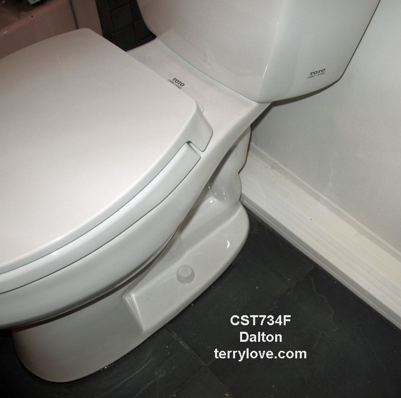 Toto Dalton toilet review, owner comments and pictures | Terry Love ...