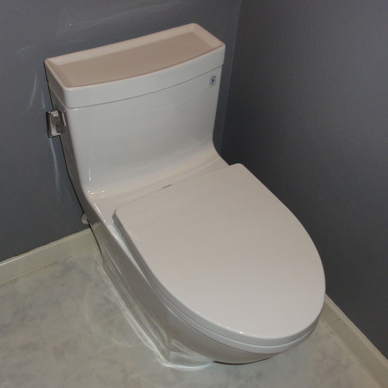 TOTO Legato MS624214CEFG One-Piece Toilet, Review and Pictures ...