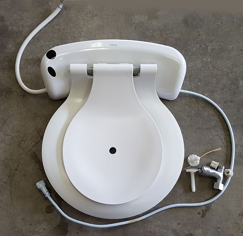 is it possiblle that their is another model which i could interchange the lid i could return the seat but hate the hassle of returns - Toto Toilet Seats