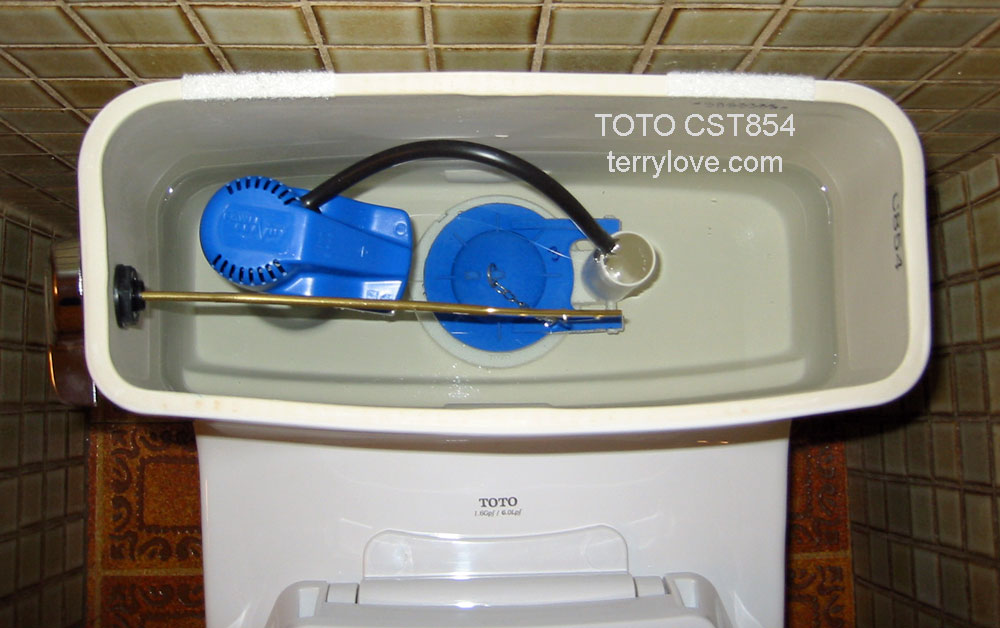 Toto Toilet Fill Valve Adjustment