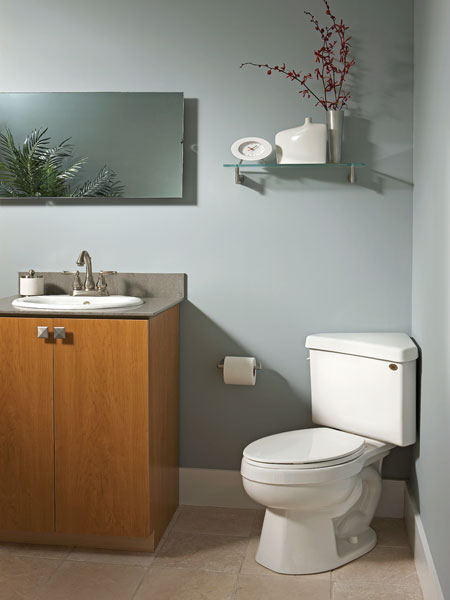 Where To Measure Rough In For Corner Toilet